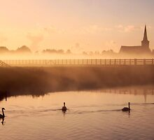 Misty Morning by Jo Nijenhuis
