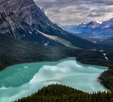 Peyto Lake - Banff National Park by Kathy Weaver