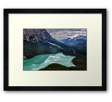 Peyto Lake - Banff National Park Framed Print