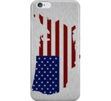 USA Brushed Stainless iPhone / Samsung Galaxy Case iPhone Case/Skin