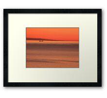 Early Morning at Sea 1 Framed Print