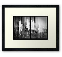 memories of tomorrow Framed Print