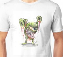 Scary Face Mike Unisex T-Shirt