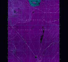 USGS Topo Map Oregon Odell Butte 280961 1967 24000 Inverted by wetdryvac