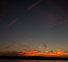 Sunset on the Lake by Kendall Ahern