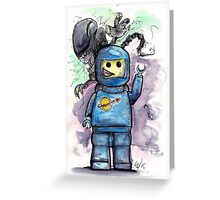 Spaced Out! Greeting Card