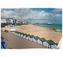 Eastbourne Beach - Sussex England Poster