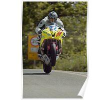 Ian Pattinson Isle of Man TT 2011 Poster