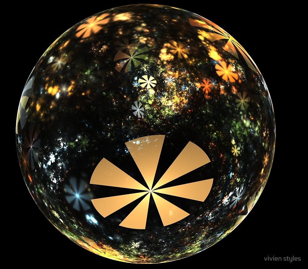 Autumn in a glass marble by vivien styles