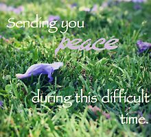 Sending you peace by Tiffany De Leon