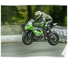 James Hillier Isle of Man TT 2011 Poster