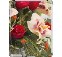 handmade wax flowers iPad Case/Skin