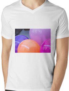 colorful balloons Mens V-Neck T-Shirt