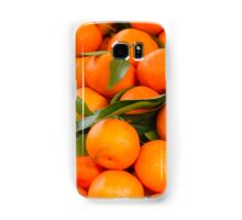 orange in winter Samsung Galaxy Case/Skin