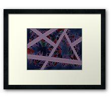 Pattern Cage Framed Print