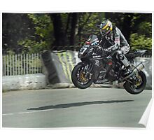 guy martin Isle of Man TT 2011 Poster