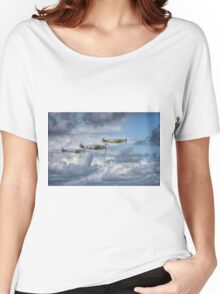 Battle of Britain Flypast at Goodwood Women's Relaxed Fit T-Shirt