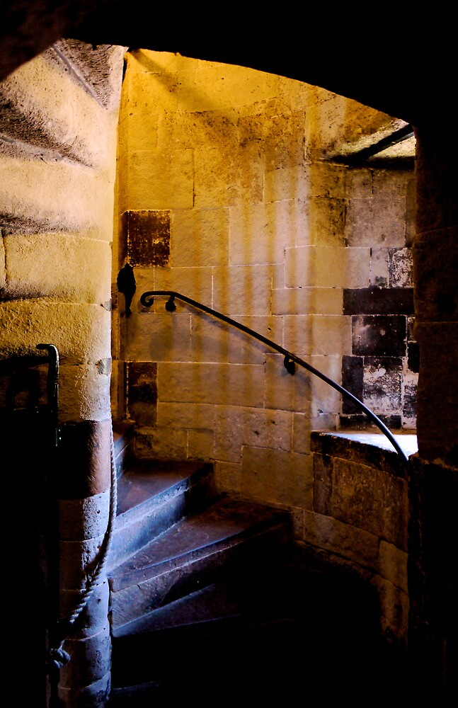Tower of London Stairs by Rae Tucker