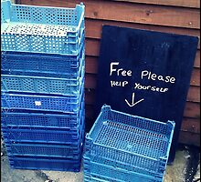 No such thing as free anything! by Maria Panagiotidi