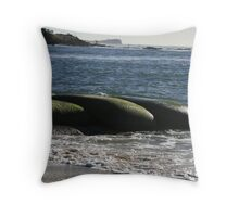 Man Sand Throw Pillow