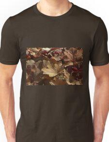 leaf background Unisex T-Shirt