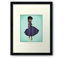 Girl of New Orleans Framed Print