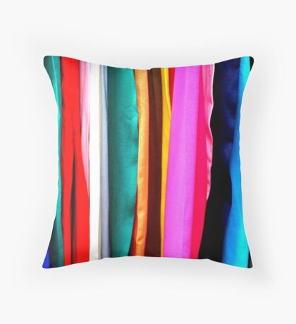 Fabrics Throw Pillow