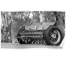 Old Seeder, Mathoura NSW Poster