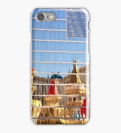 RT14 - Las Vegas Nevada - Excalibur Reflections iPhone Case/Skin