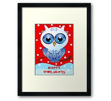 holidays Framed Print