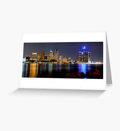 Detroit, Michigan Greeting Card