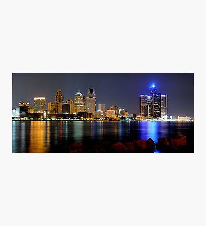 Detroit, Michigan Photographic Print