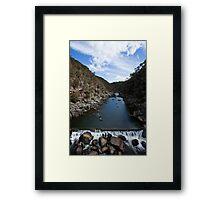 Cataract Gorge, Launceston, Tasmania Framed Print