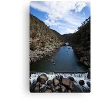 Cataract Gorge, Launceston, Tasmania Canvas Print