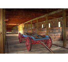 Wood Wagon Photographic Print