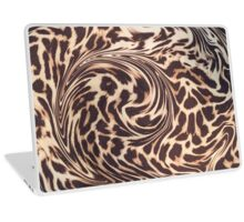 leopard fur Laptop Skin