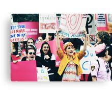 Austin Protest Canvas Print