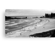 View from Mount Maunganui Canvas Print