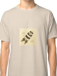 rocket bird  Classic T-Shirt