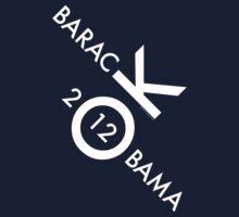 OK Obama - White Text by LTDesignStudio