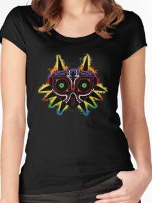 Majora's Splat~ Women's Fitted Scoop T-Shirt