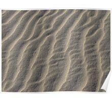 Montalivet Sand Sculpture Poster