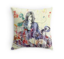 Yellow dreams 2 Throw Pillow