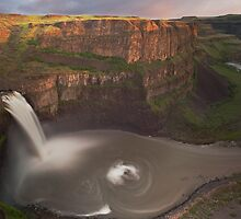 Sunset on Palouse Falls by Steve Biederman