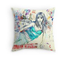 Yellow dreams 3 Throw Pillow