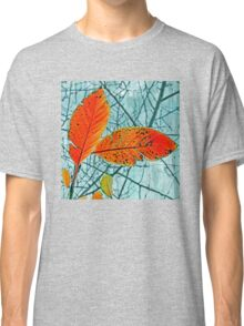 Lace of Autumn Abstract Classic T-Shirt