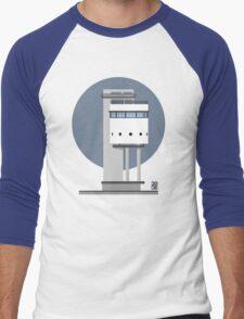 White Tower Men's Baseball ¾ T-Shirt