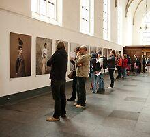 Photo exhibition in Grote Kerk, Naarden by steppeland