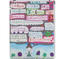 Positivity Girl Doodle iPad Case/Skin