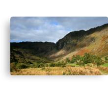 Colours of Glenlough Canvas Print